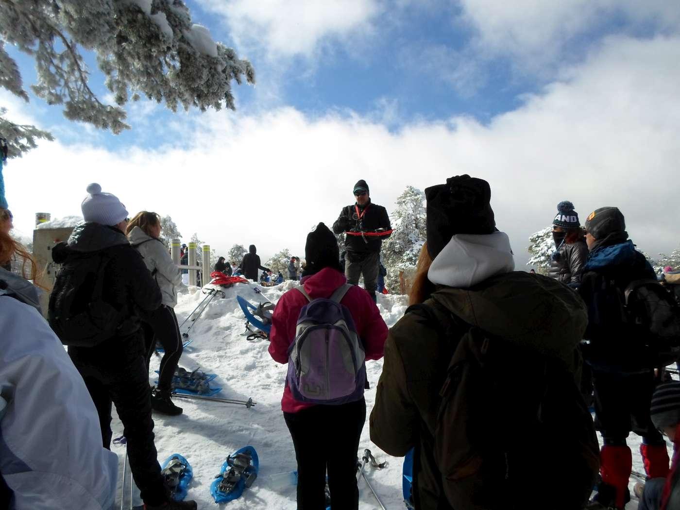 Raquetas de nieve en Cotos