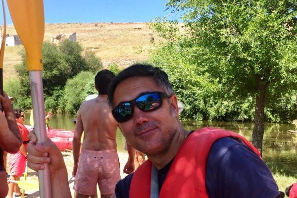 Canoas por el Duratón_Sendero y Luna_10